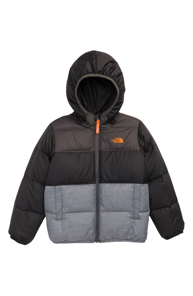The North Face Kids Moondoggy Water Repellent Reversible Down Jacket Toddler Boys Little Boys Nordstrom North Face Kids Down Jacket The North Face [ 1197 x 780 Pixel ]