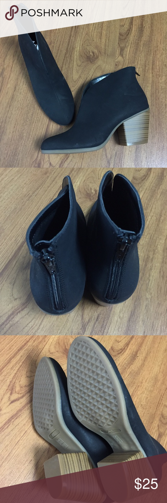 81cfc30687a NIB Black Aerosoles Booties A2 brand new in box as pictured size 9.5 M pls  refer to website for fit A2 By Aerosoles Shoes Ankle Boots   Booties