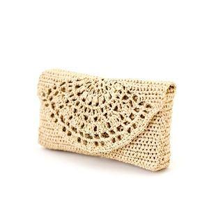 Crochet Bag Pattern, Raffia Bag, Clutch, Purse, Handbags, Crochet bag, Raffia, Crochet designs, Raph #craftstomakeandsell