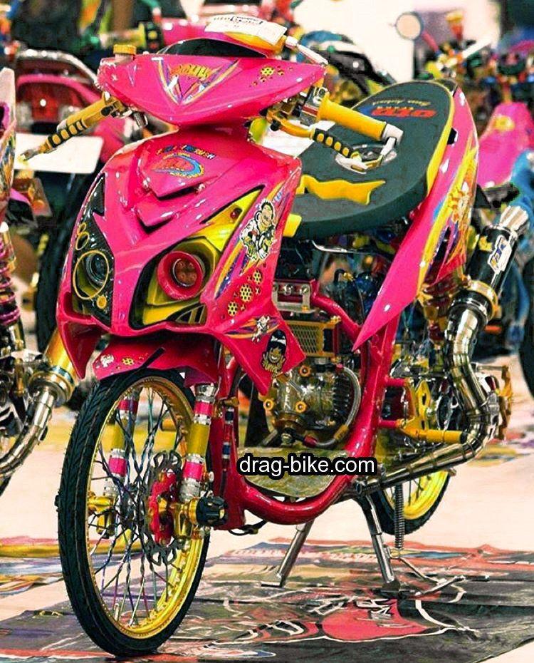 Keren Kumpulan Gambar Modifikasi Yamaha Mio Gaya Drag Bike