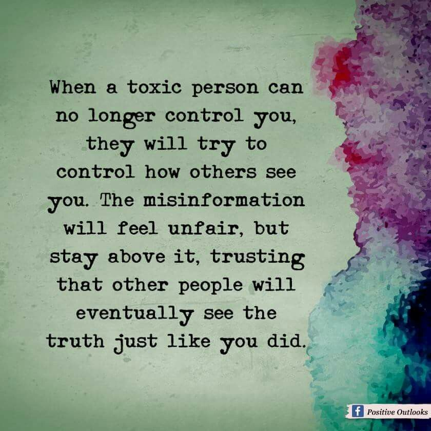 how to know if you are a toxic person