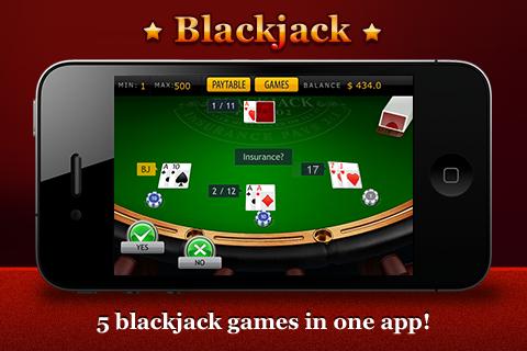 BLACKJACK (5 GAMES)