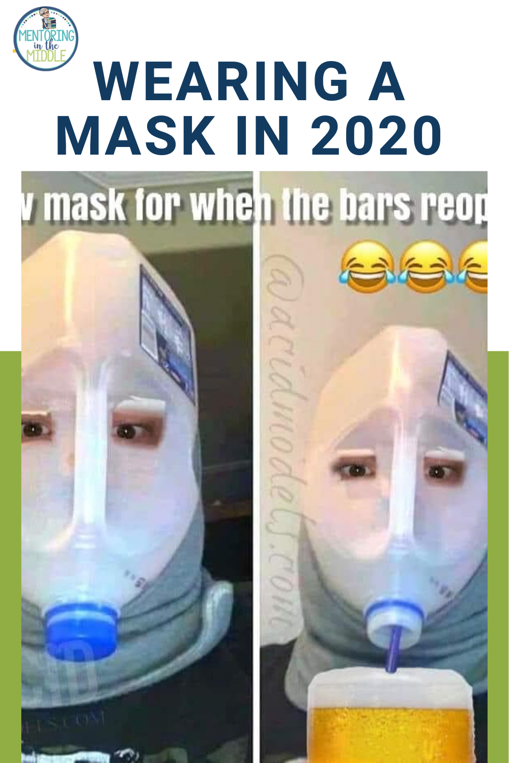 Funny Memes For Wearing Masks In 2020 Blended Learning Middle School Upper Elementary