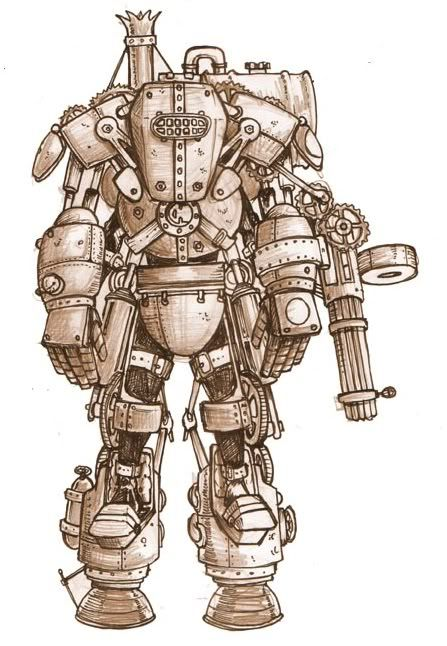 Clockwork Power Armor | imgbucket.com - bucket list in ...