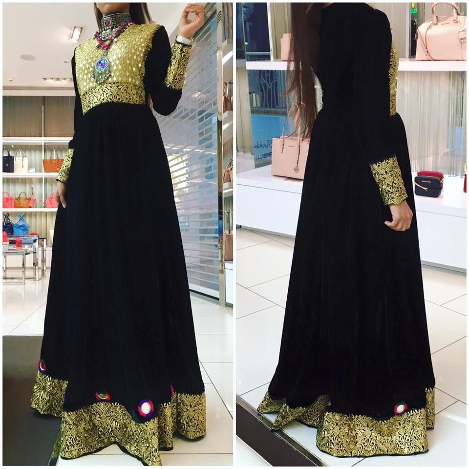 afghan dress 100% silk velvet trims dry clean only imported.
