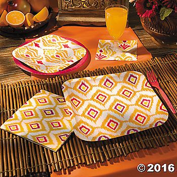 Ikat Party Supplies