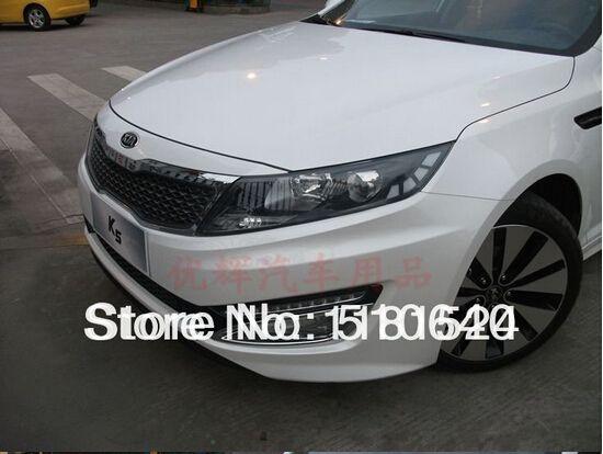 Abs Chrome Front Fog Light Lamp Cover Trim For 2011 Kia Optima K5