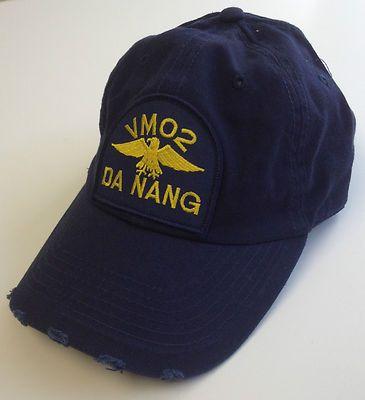 Distressed Cotton VMO2 Da Nang Magnum P.I. PI Hat Tom Selleck VM02 Ball Cap 159f8620263c