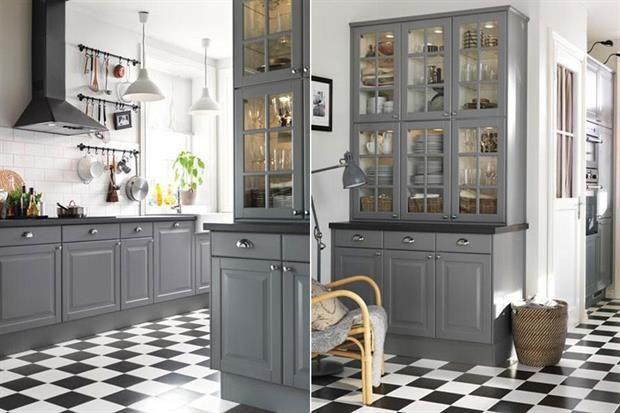 Decorar Con Color 12 Cocinas En Gris Diseno Muebles De Cocina Cocina Gris Colores De Cocinas Integrales