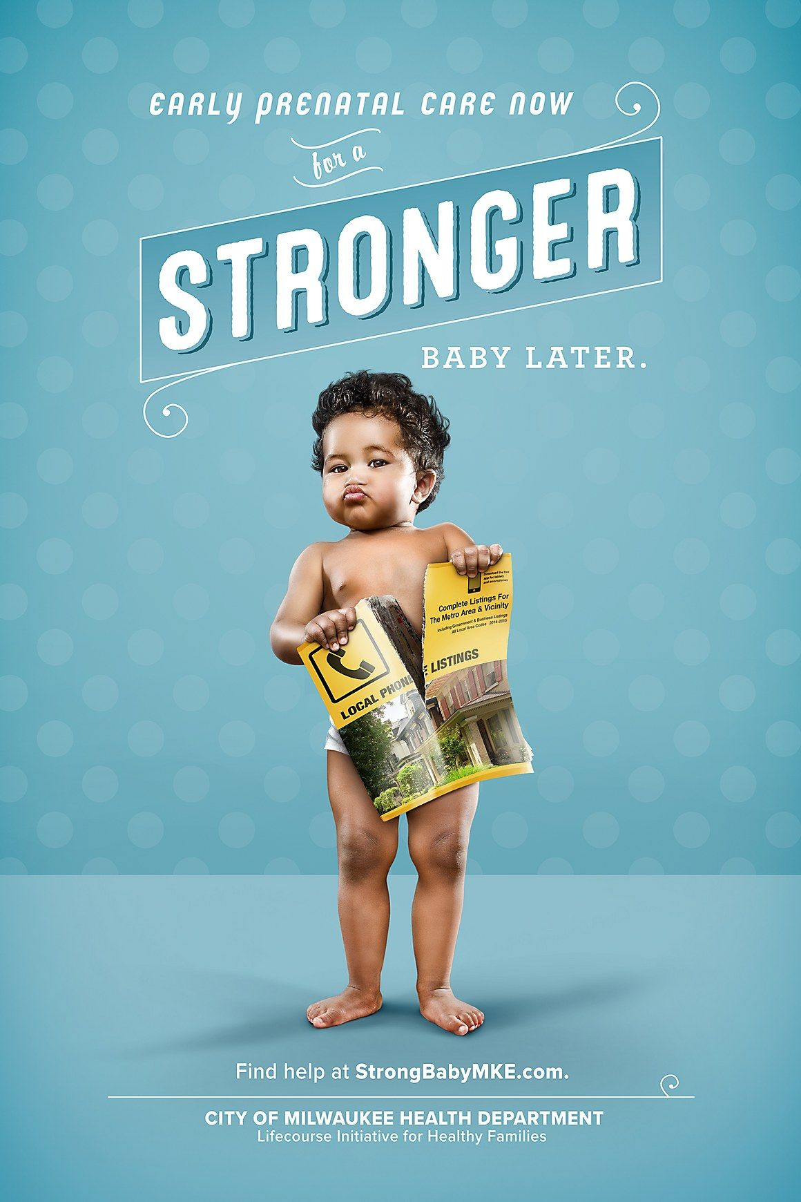 Serve Marketing Amp Rsquo S Ads Fight Back Against The Infant Mortality Crisis Amp Mdash With Strong Babies Ads Creative Health Department Baby Ads