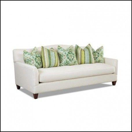 Single Bench Cushion Sofa