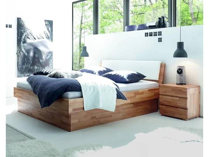 Photo of Hasena Wood-Line solid wood bed Premium Practico / Varus 180×200 cm / Bu