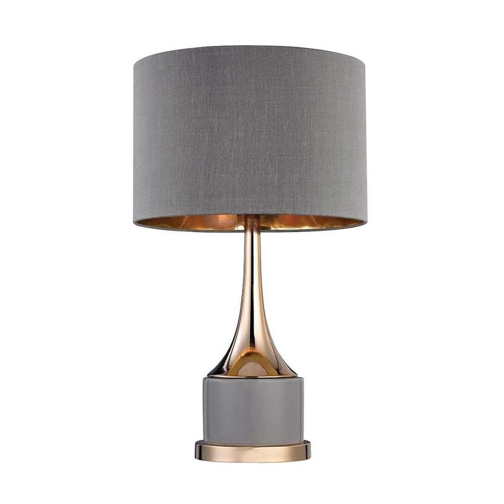 Baileystreethome Cone Neck One Light Small Table Lamp Modern Table Lamp Grey Table Lamps Small Table Lamp