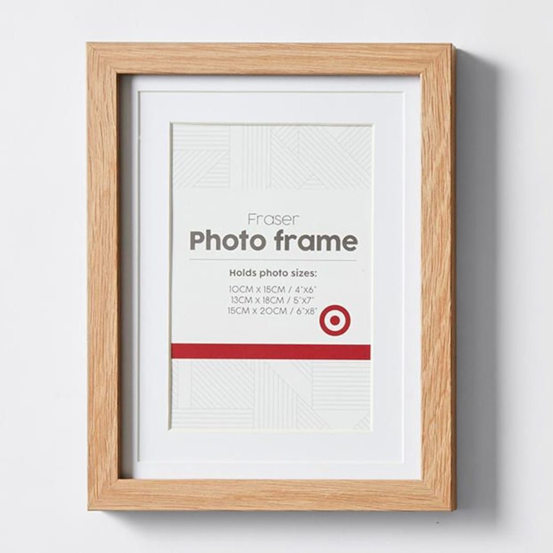 Fraser 15 X 20cm Frame Natural Frame Photo Frame Natural Frame