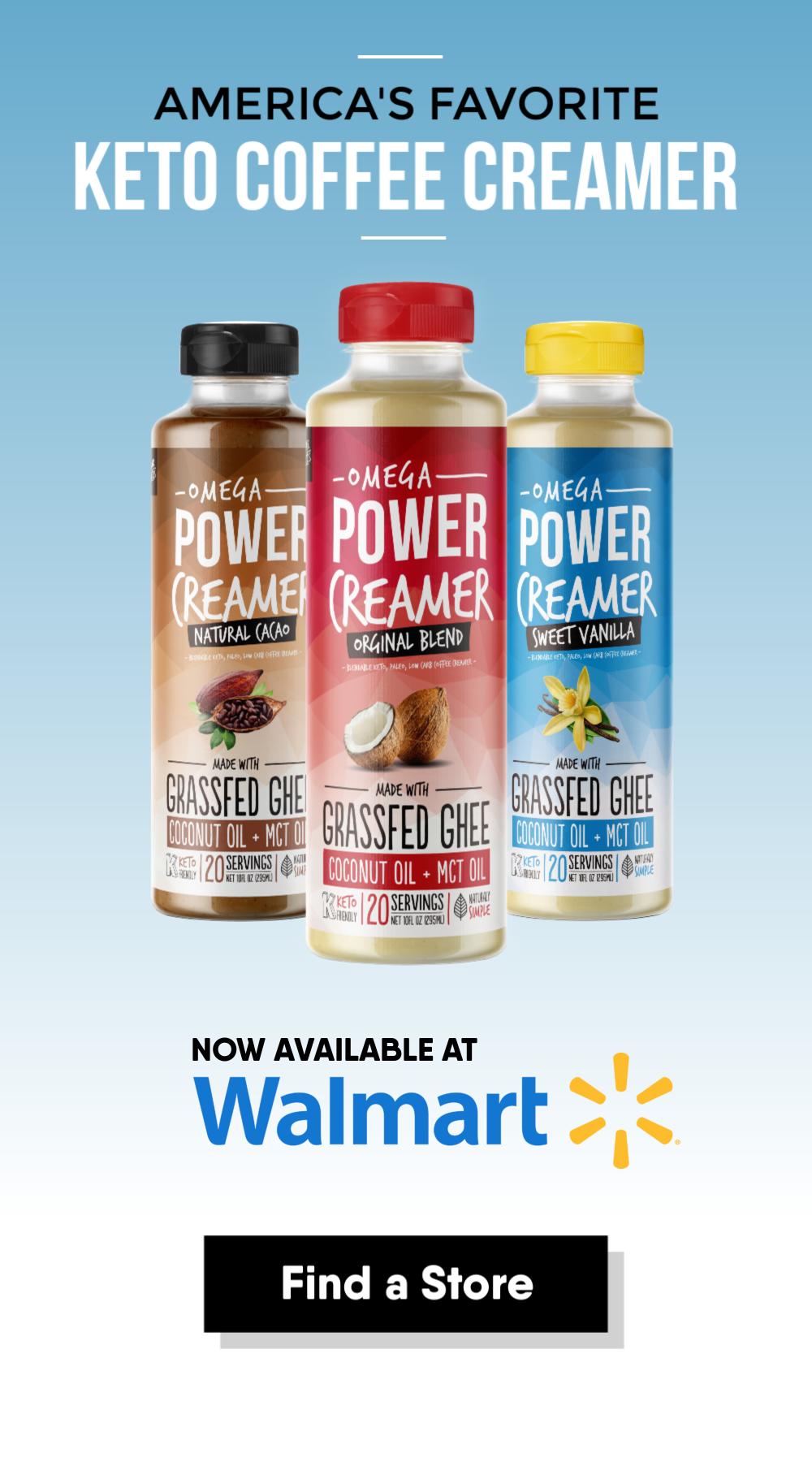 Shop our Vanilla, Original, and Cacao PowerCreamer flavors