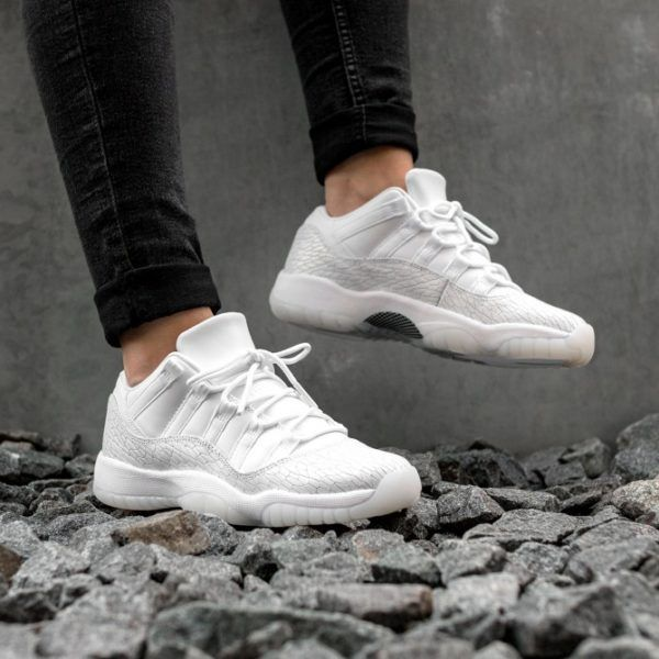 Air Jordan Xi Low Premium Heiress White Grailify Sneaker Releases Air Jordans Retro Air Jordans Nike Air Jordan 11