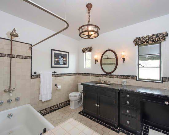 Mediterranean Theme Spanish Bathroom