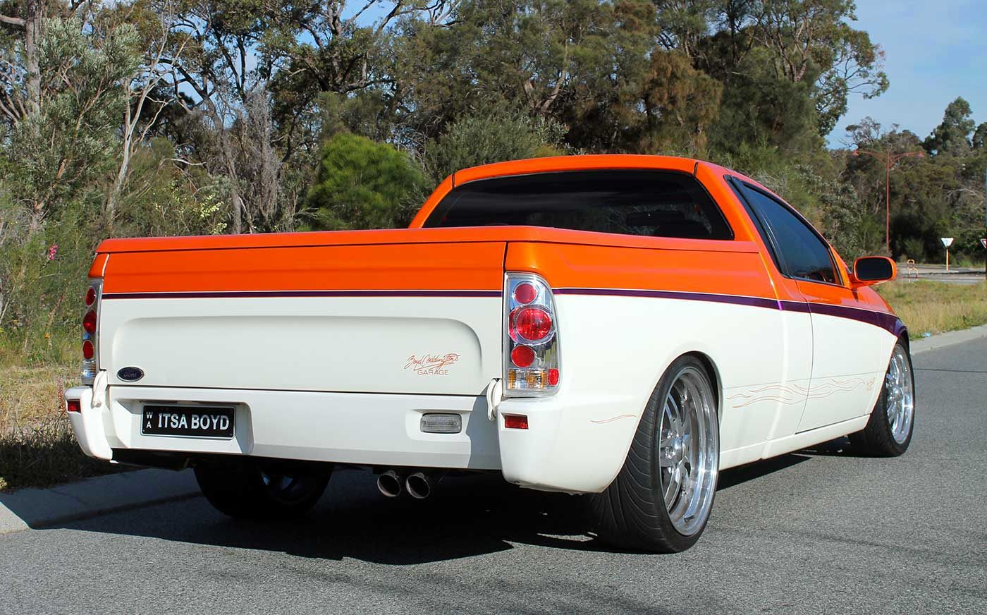 Boyd Coddington Falcon Au Xr Ute Boyd Coddington Boyd