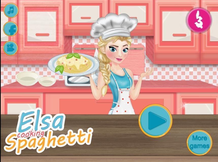 Spaghetti Elsy Gry Dla Dziewczyn More Games Games Spaghetti