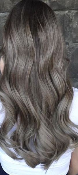Hair Color Light Grey