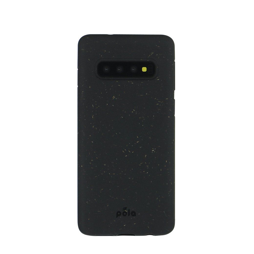 Black Samsung S10 Eco-Friendly Phone Case