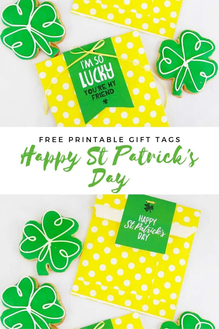 Free printable st patricks day gift tags in 2020 st