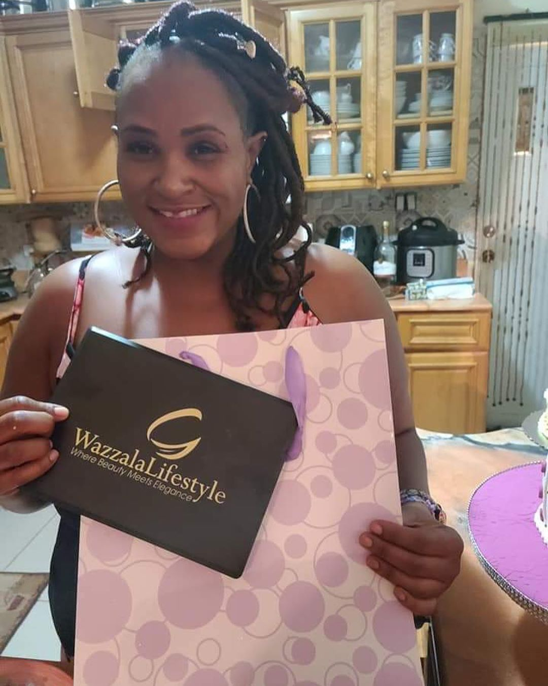 Happy Customer With Her Birthday Gift Wazzalalifestyle Wazzalacosmetics Lifestyle Cosmetics Beauty Elegan In 2020 Beauty Ted Baker Icon Bag Happy Customers