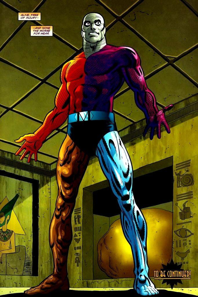 Rex Mason (New Earth) | Dc comics, Superhero, Comics
