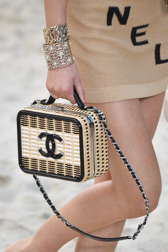 3d89f18d2604 Massive Chanel bag in hula hoops wows on runway at Paris Fashion Week