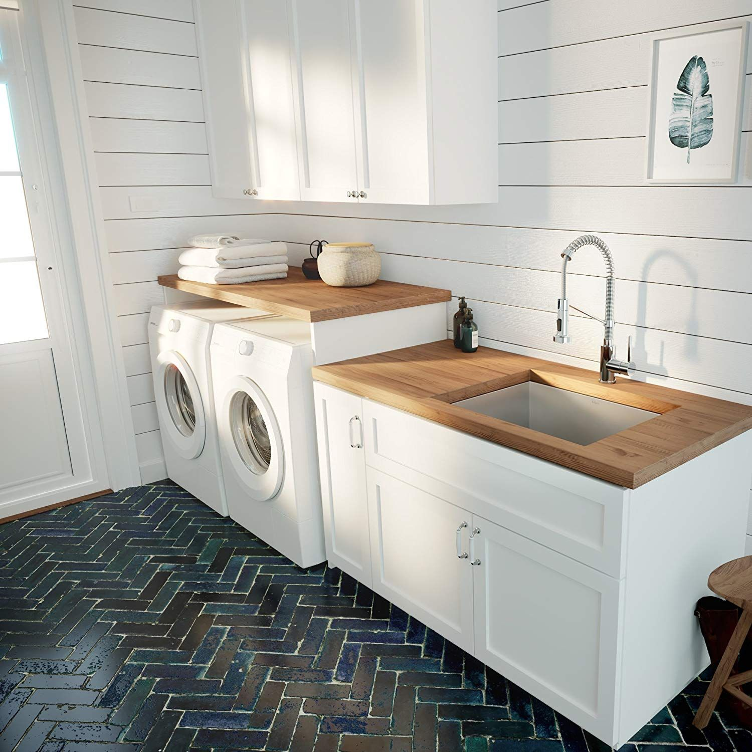 Pin On Farmhouse Style Laundry Rooms