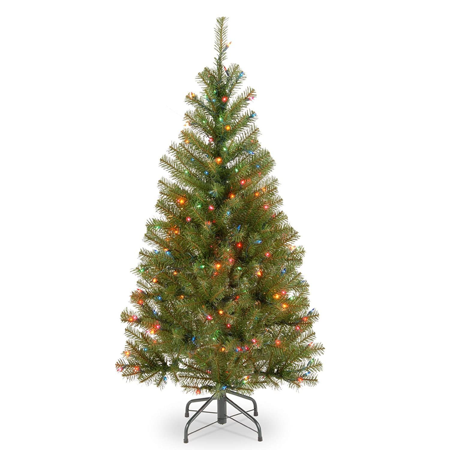 4 Ft Pre Lit Aspen Spruce Artificial Christmas Tree Multi Color Lights See This Gre In 2020 Artificial Christmas Tree Pre Lit Christmas Tree Green Christmas Tree