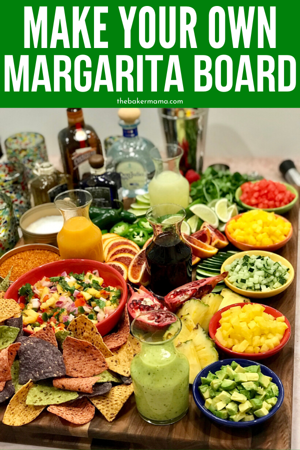 Make-Your-Own Margarita Board