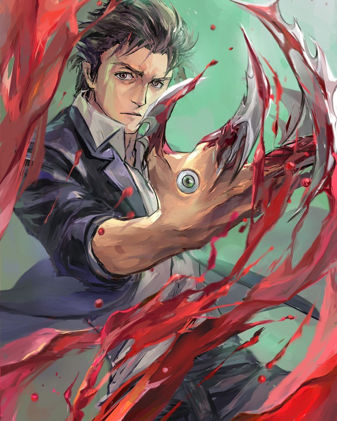 Kiseijuu sei no kakuritsu Parasyte Shinichi anime