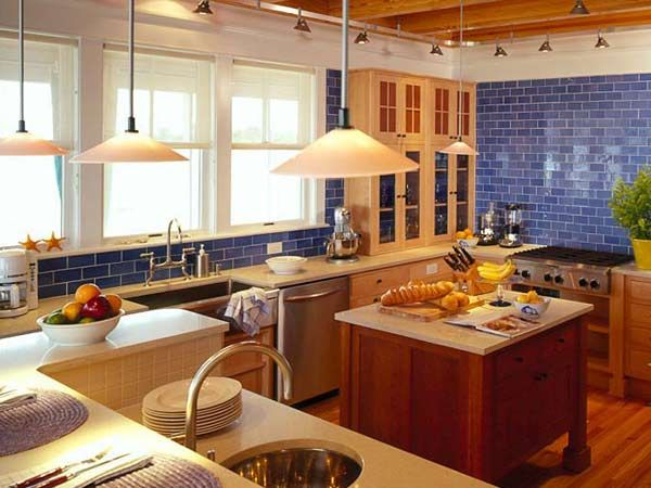 Coastal Living - Kitchens - Room Gallery - MyHomeIdeas.com