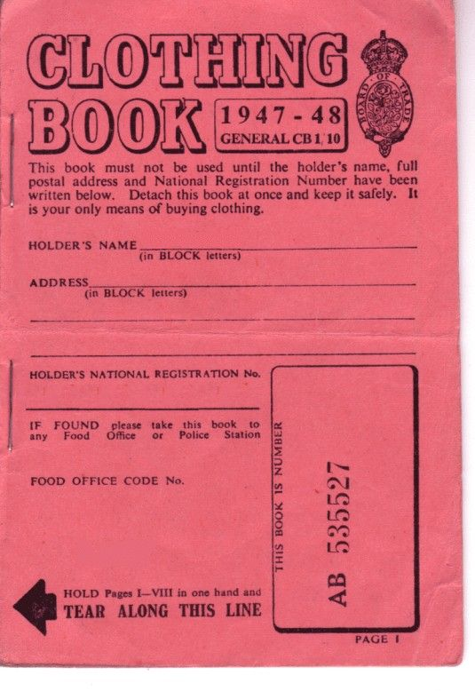The Wartime Kitchen: Living off Rations with Ration Book Cooking