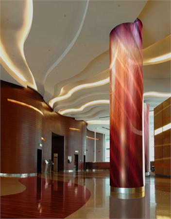 Interior column designs decorative mouldings - Decorative columns interior ideas ...
