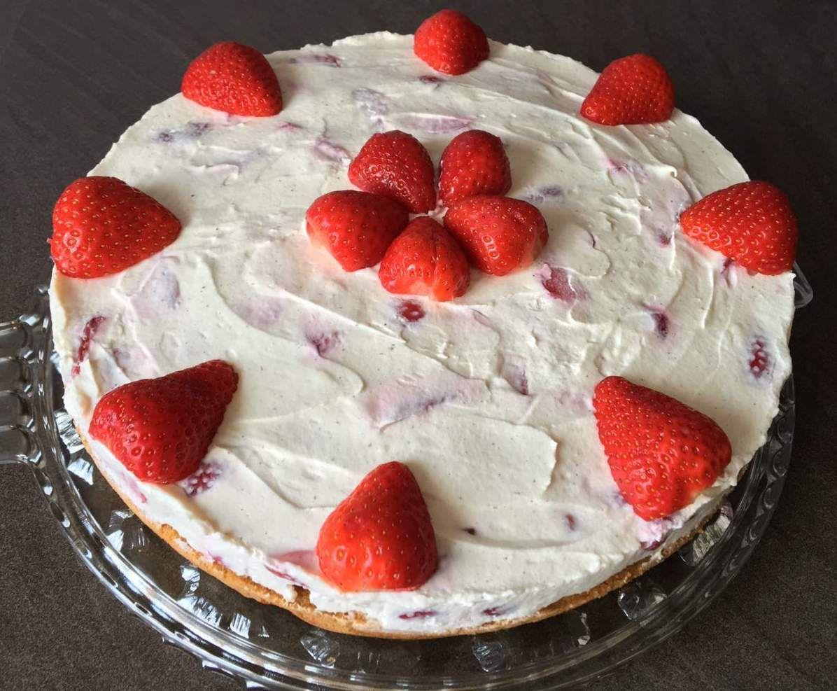 Fantakuchen Mit Erdbeeren Springform 28cm Rezept Termomix