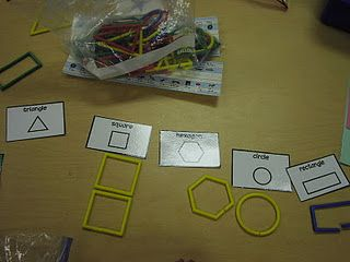 Sorting Attrilinks (2D shapes)