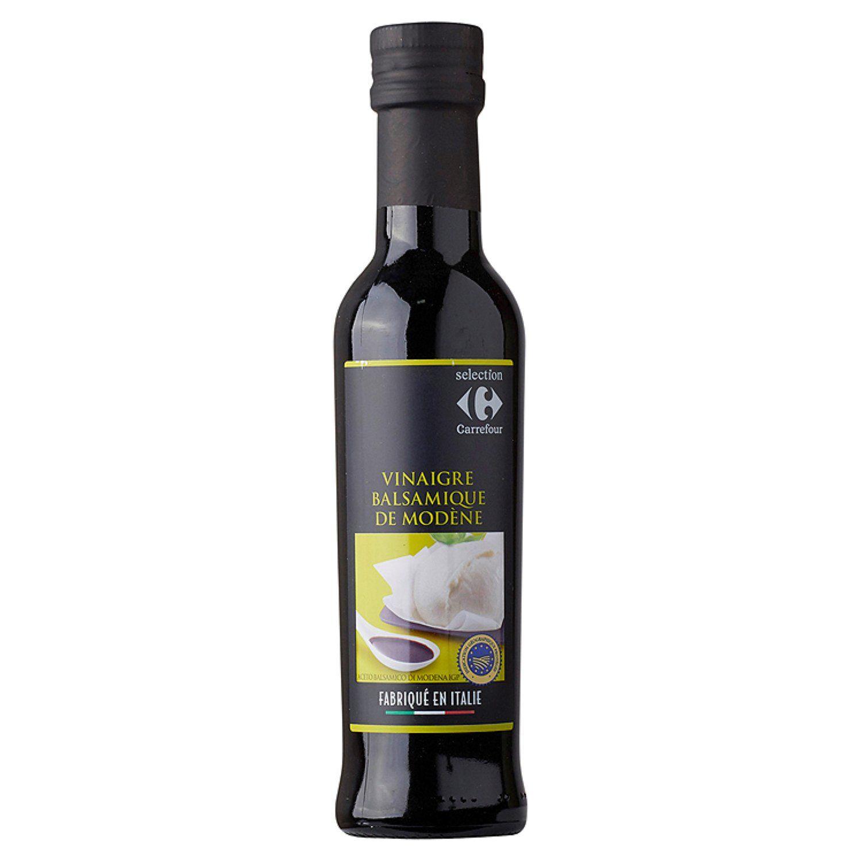 Vinaigre Balsamique De Modene Carrefour Selection La Bouteille De 25cl A Prix Vinaigre Balsamique Balsamique Et Vinaigre