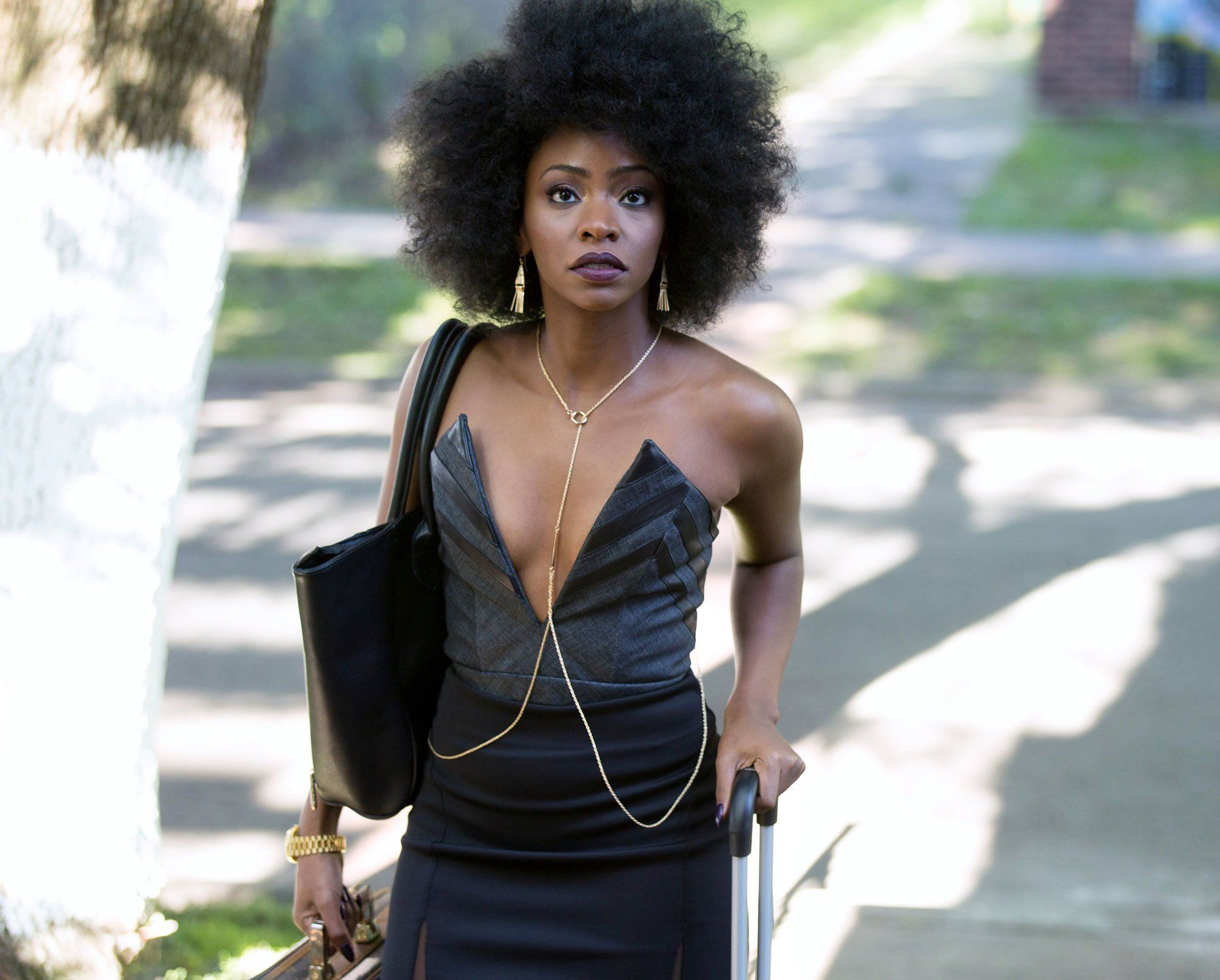 Teyonah Parris on Sex Strikes, Chi-Raq, and Collaborating With Spike Lee