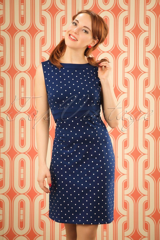 Dieses 60s Lolette Dots Dress wird immer die richtige Wahl sein ...