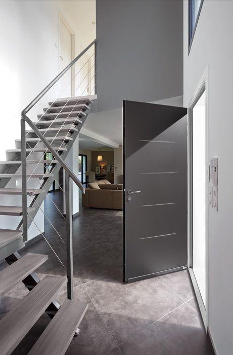 Porte du0027entrée aluminium Griff 1    wwwzilten les-portes