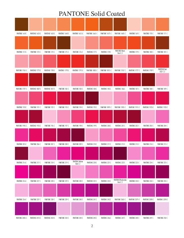 Pantone Solid Coated Just Good Pins Pinterest Pantone Solid
