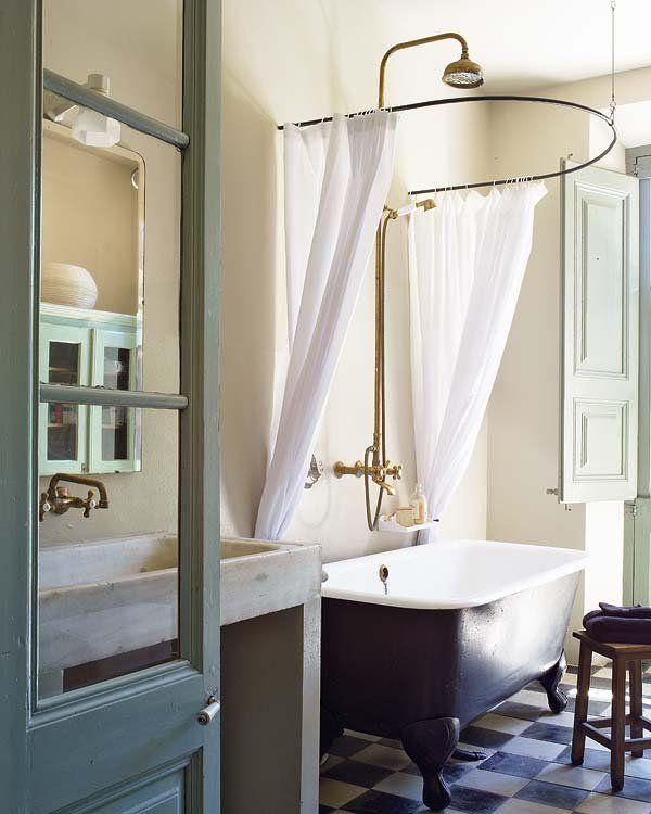 Baños con ducha y bañera   Bath and Spaces