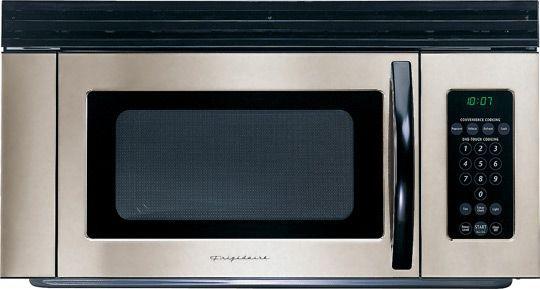 Small Over Range Microwave Ovens Frigidaire Fmv156em Over The