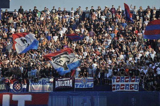 Bad Blue Boys Are Back Dinamo Zagreb Hajduk Split 12 07 2015 Zagreb Soccer Club Splits
