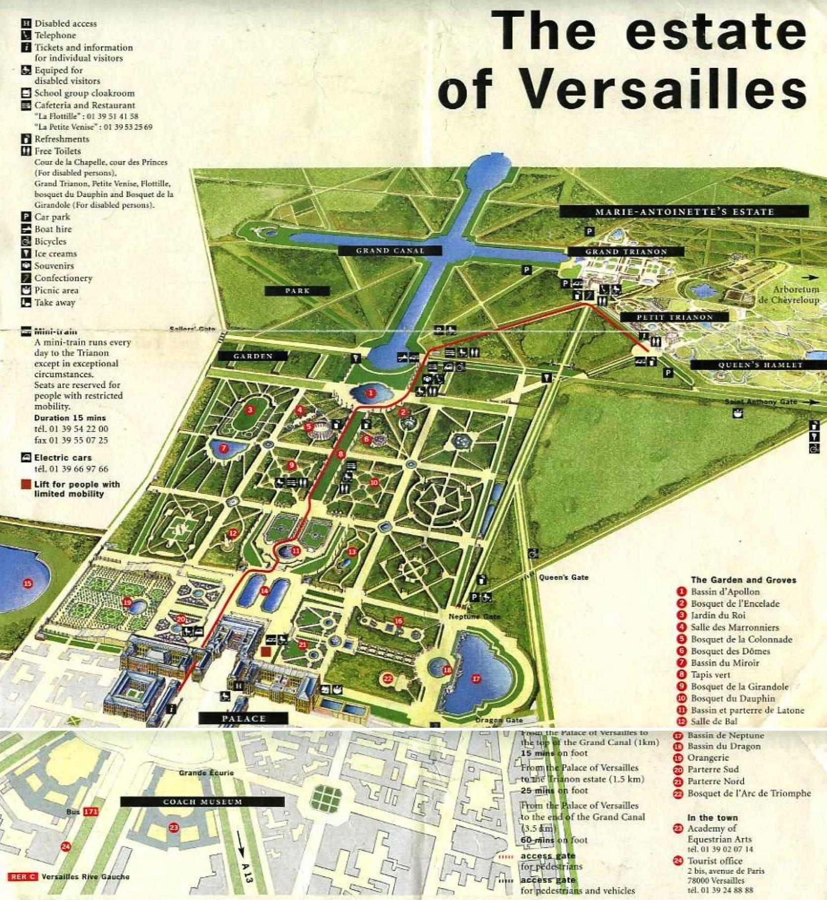 mapofversaillespalacejpg 16711818 Paris Pinterest