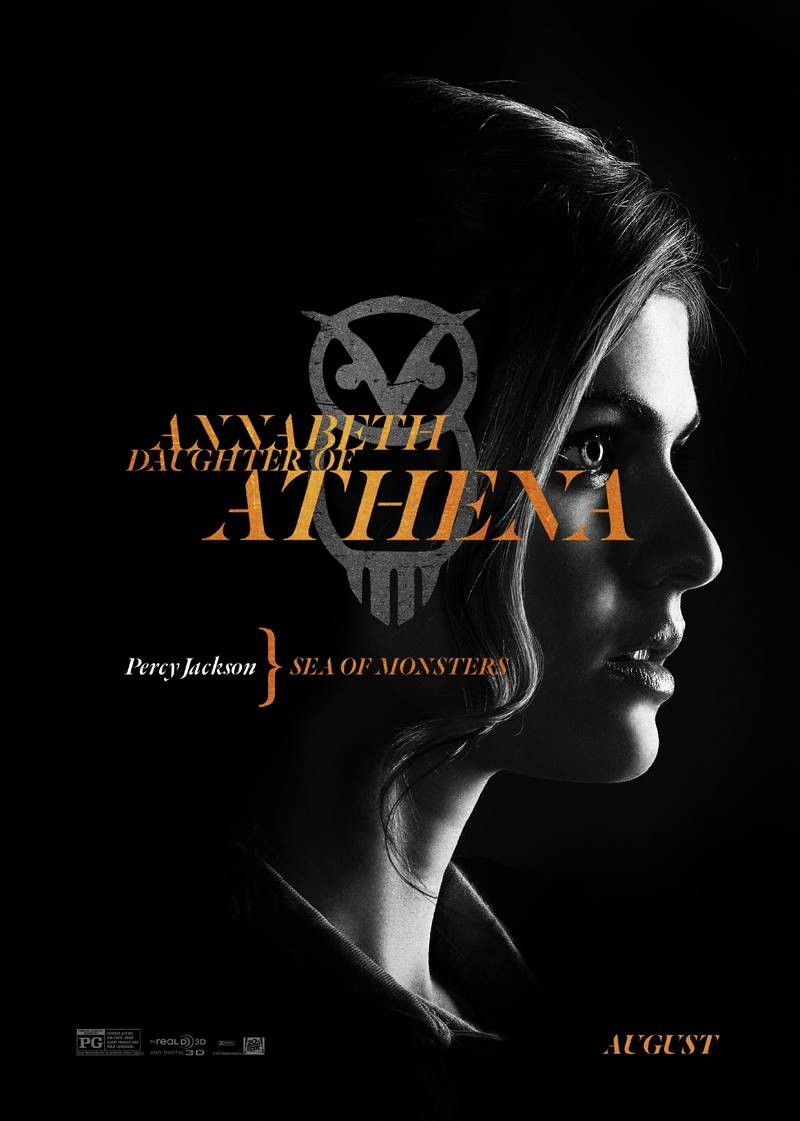 Percy Jackson Sea of Monsters Annabeth daughter of Athena