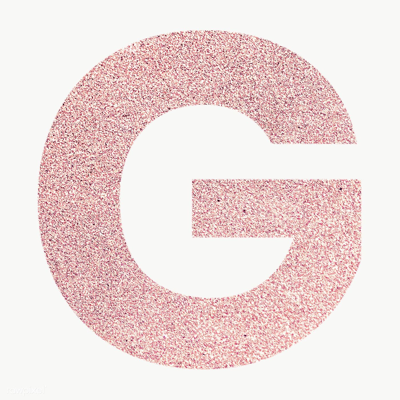 Glitter Capital Letter G Sticker Transparent Png Free Image By Rawpixel Com Ningzk V In 2020 Pink Wallpaper Iphone Iphone Wallpaper Glitter Transparent Stickers