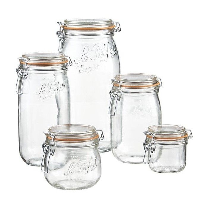 Bon SAFE Food Storage: Le Parfait Jars From Crate And Barrel | Remodelista